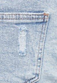 Bershka - Denim shorts - dark blue - 5