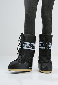 Moon Boot - Vinterstøvler - black - 0
