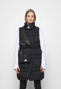 adidas Performance - URBAN COLD.RDY OUTDOOR DOWN VEST - Veste - black - 0