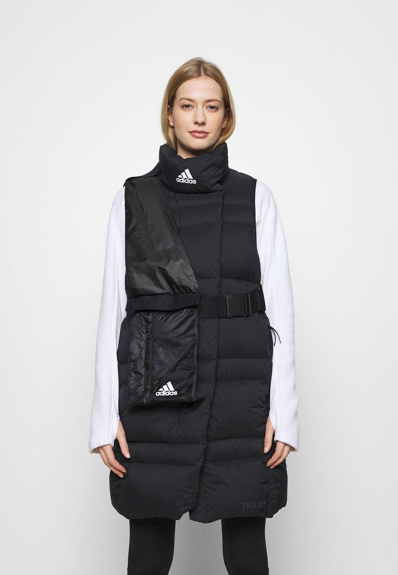 adidas Performance - URBAN COLD.RDY OUTDOOR DOWN VEST - Veste - black