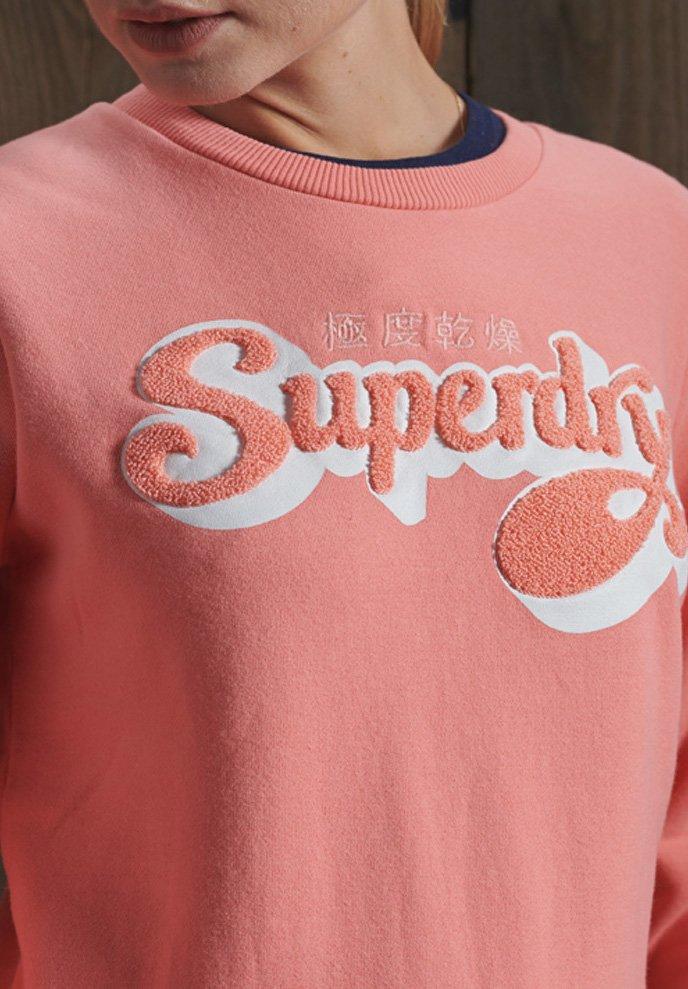 Women LIMITED EDITION CHENILLE SHADOW CREW - Sweatshirt