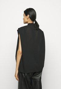 3.1 Phillip Lim - CAP SLEEVE BLOUSE - Button-down blouse - black - 2