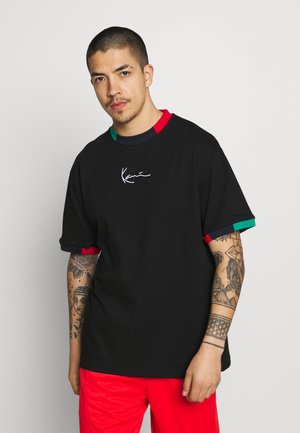 SMALL SIGNATURE TEE UNISEX - T-shirt med print - black