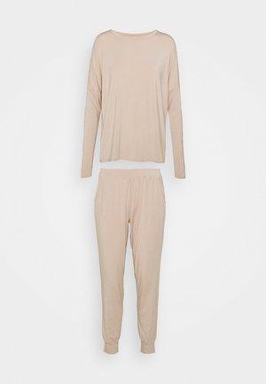 Piżama - taupe