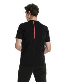 Puma - FERRARI HERREN BIG SHIELD  - T-shirt med print - black - 2
