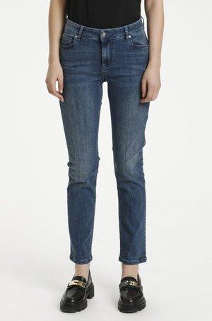 Straight leg jeans - medium blue vintage wash