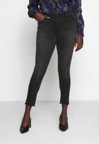 ONLY Carmakoma - CARWILLY  - Jeans Skinny Fit - black - 0