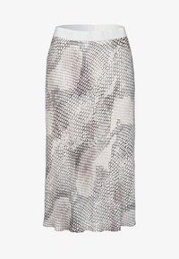 Marc Aurel - A-line skirt - light sand varied - 4
