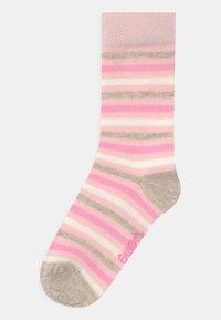 Ewers - DOTS STRIPES PLAIN 6 PACK - Socks - latte/tinte - 1