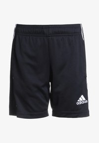 adidas Performance - CORE ELEVEN PRIMEGREEN FOOTBALL 1/4 SHORTS - Pantaloncini sportivi - black/white - 0