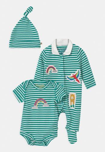 DELIGHTFUL BABY GIFT SET UNISEX - Print T-shirt - green