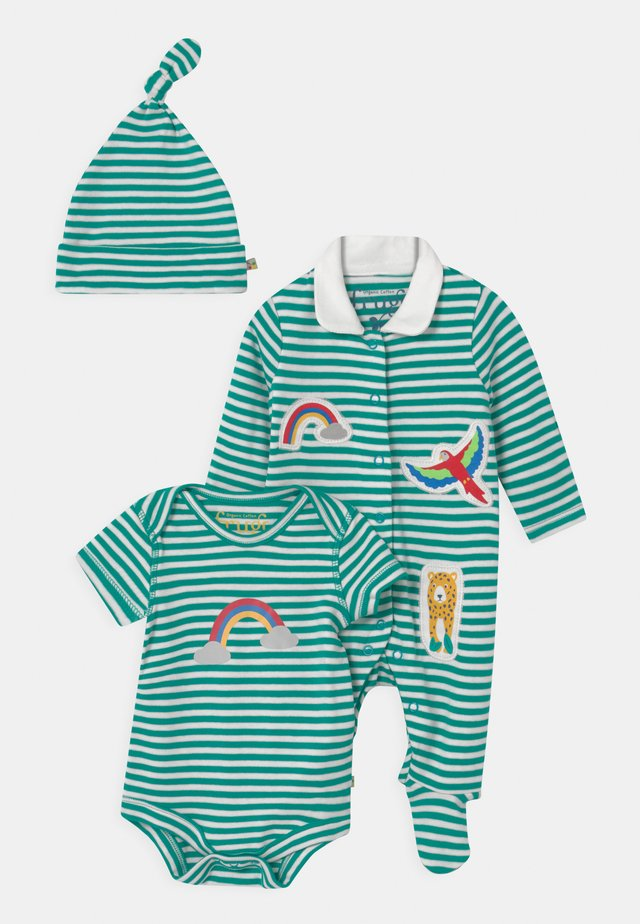 DELIGHTFUL BABY GIFT SET UNISEX - Camiseta estampada - green