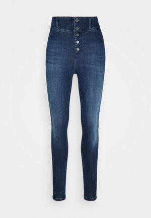 CONNY FUSEAUX - Jeans Skinny Fit - blue