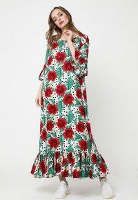 Madam-T - Maxi dress - rosa rot - 3