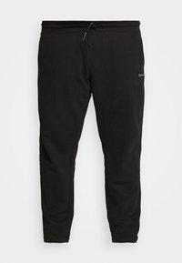 Calvin Klein - LOGO EMBROIDERY - Pantaloni sportivi - black - 3
