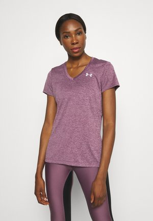 TECH SSV TWIST - Sports shirt - mauve