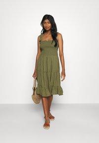 ONLY - ONLPELLEA LIFE STRAP DRESS - Day dress - capulet olive - 1