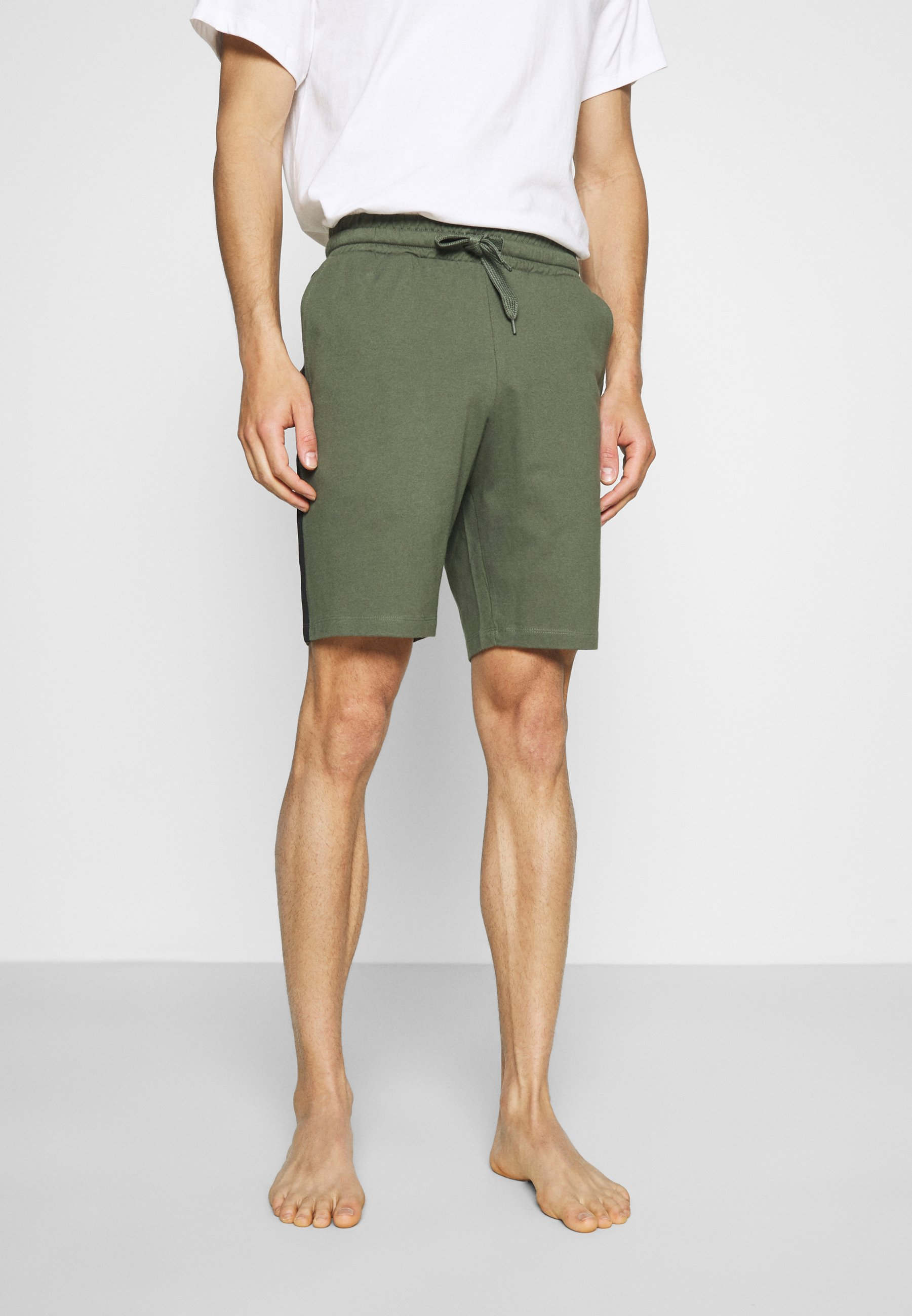 Men LOUNGE STRIPED SHORTS - Pyjama bottoms
