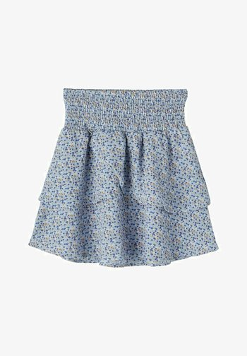 Pleated skirt - skyway