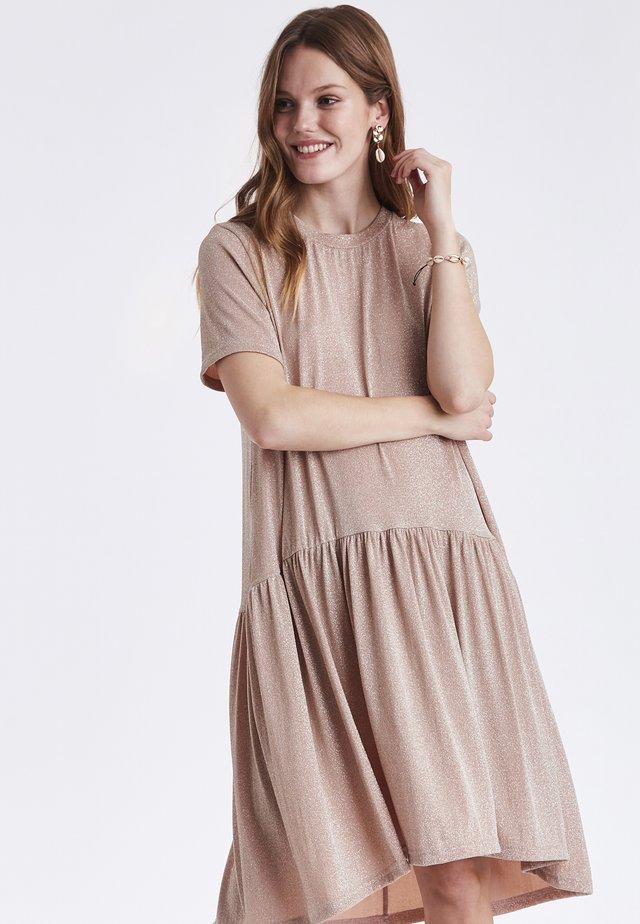 BYSIANNA  - Sukienka z dżerseju - beige
