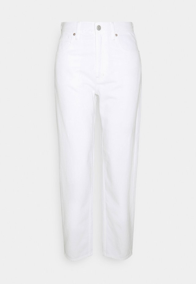 BARREL - Relaxed fit jeans - white global