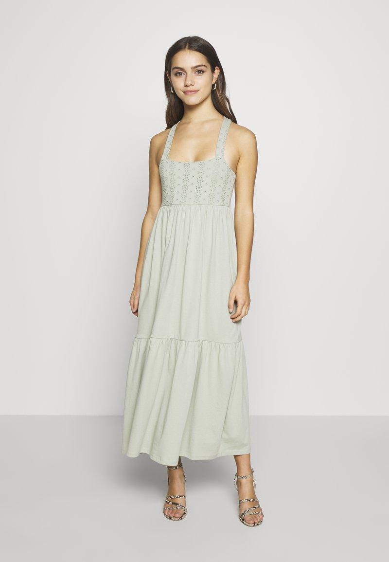 ONLY Petite - ONLVANNA DRESS - Jersey dress - desert sage