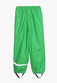 CeLaVi - BASIC RAINWEAR SUIT SOLID - Regnbukser - green - 3