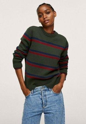 Pullover - groen