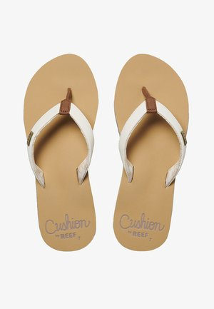 CUSHION - Sandalias de dedo - cloud