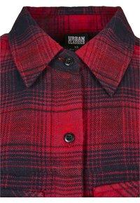 Urban Classics - Button-down blouse - darkblue/red - 7
