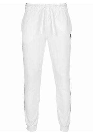 JOGGINGHOSE SPORTSWEAR - Trainingsbroek - white/black