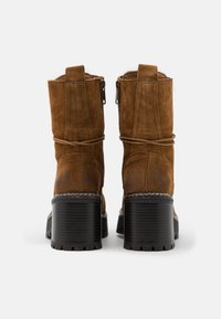 Coolway - JORDAN - Platform ankle boots - brown - 3