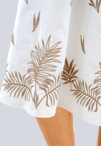 Alba Moda - A-line skirt - weiß haselnuss - 1