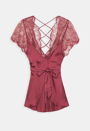 COCO CROSS - Dressing gown - maroon