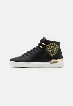 NEW BEAST TOP - Sneakers high - black/gold