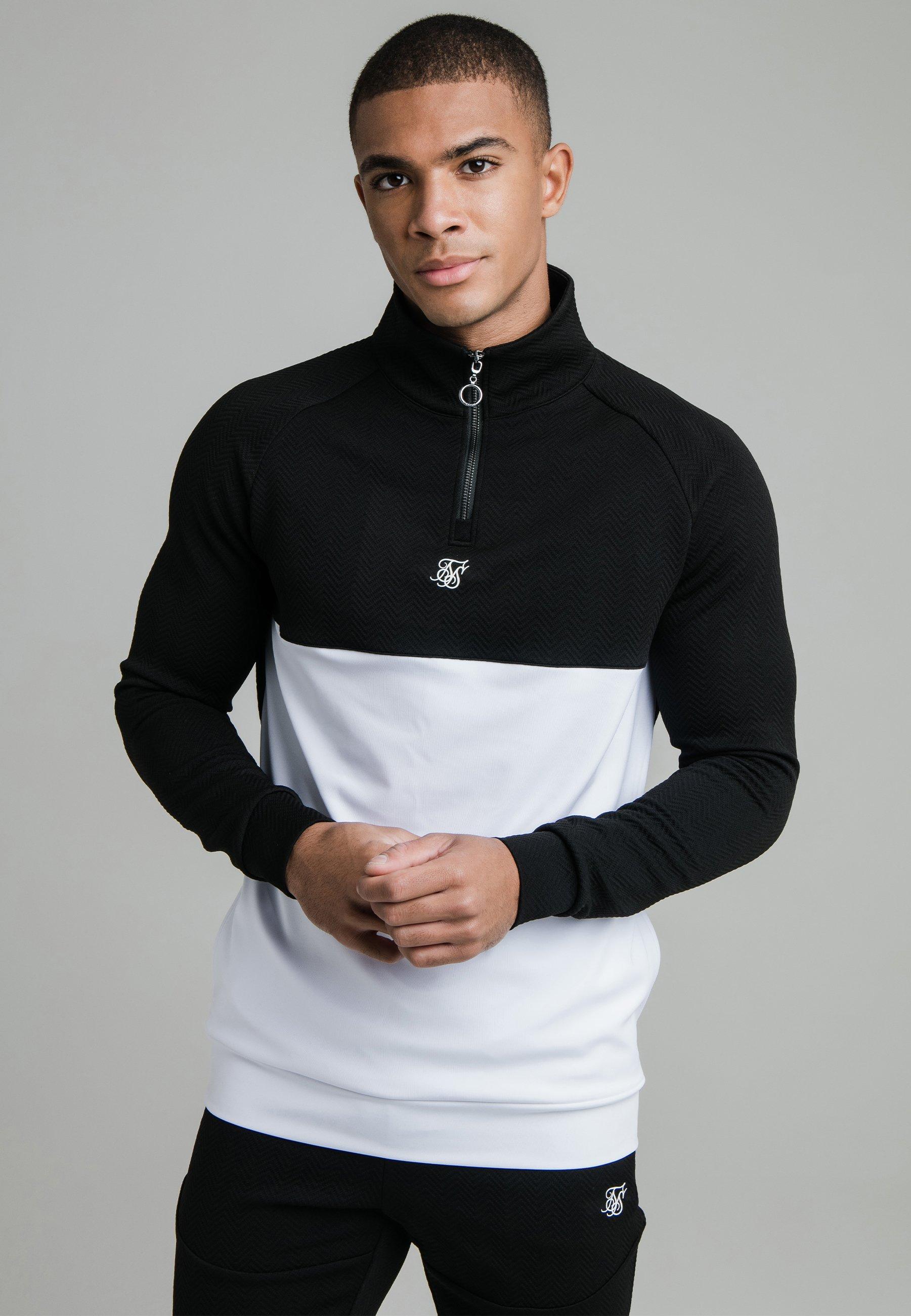 Men SURFACE QUARTER ZIP FUNNEL - Long sleeved top