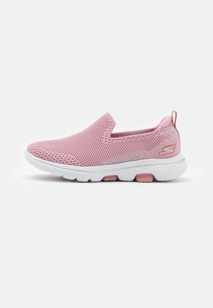 GO WALK 5 CLEARLY COMFY UNISEX - Zapatillas para caminar - light pink