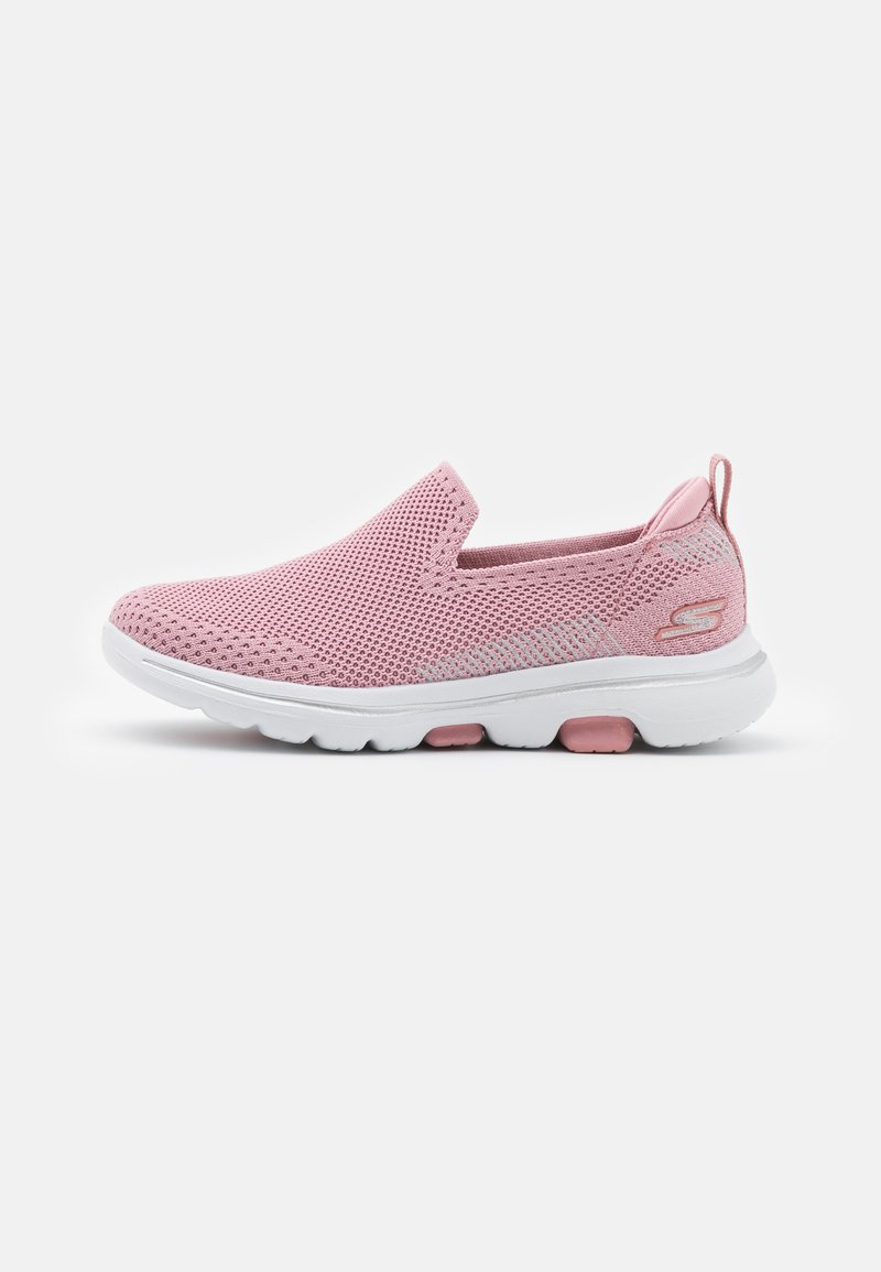 Skechers Performance - GO WALK 5 CLEARLY COMFY UNISEX - Chodecké tenisky - light pink
