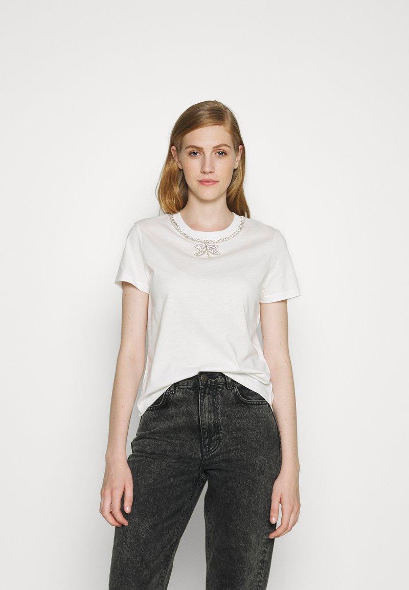 maje - TOPAL - T-shirts med print - blanc