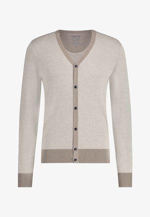 Cardigan - white grey/cream