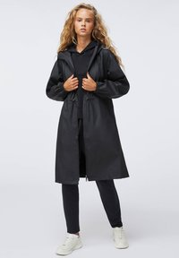 OYSHO - Waterproof jacket - black - 1