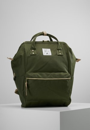 BACKPACK COLOR BLOCK LARGE UNISEX - Rucksack - khaki