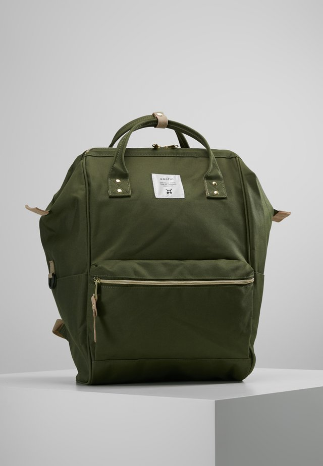 BACKPACK COLOR BLOCK LARGE UNISEX - Batoh - khaki