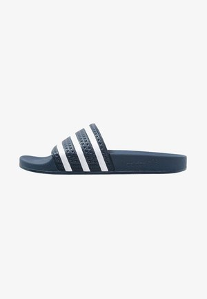 ADILETTE - Pool slides - blue/white