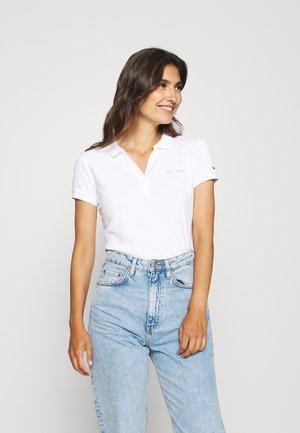 CECILE SLIM - Polo shirt - white