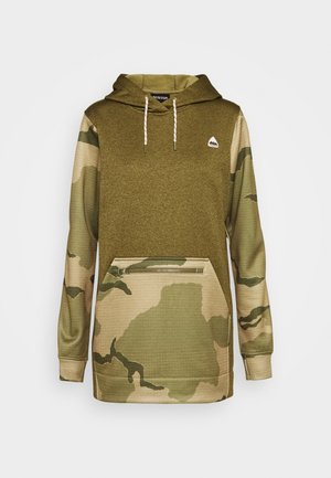 OAK LONG - Kapuzenpullover - khaki