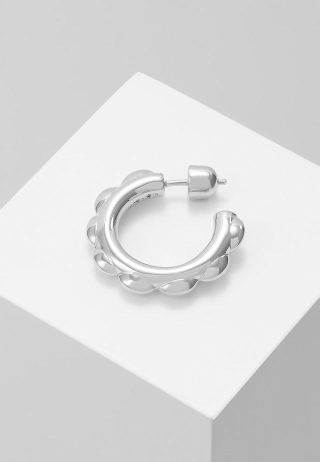 POPPY EARRING - Korvakorut - silver