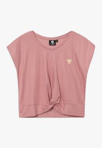 Hummel - HMLLIV - Print T-shirt - ash rose - 0