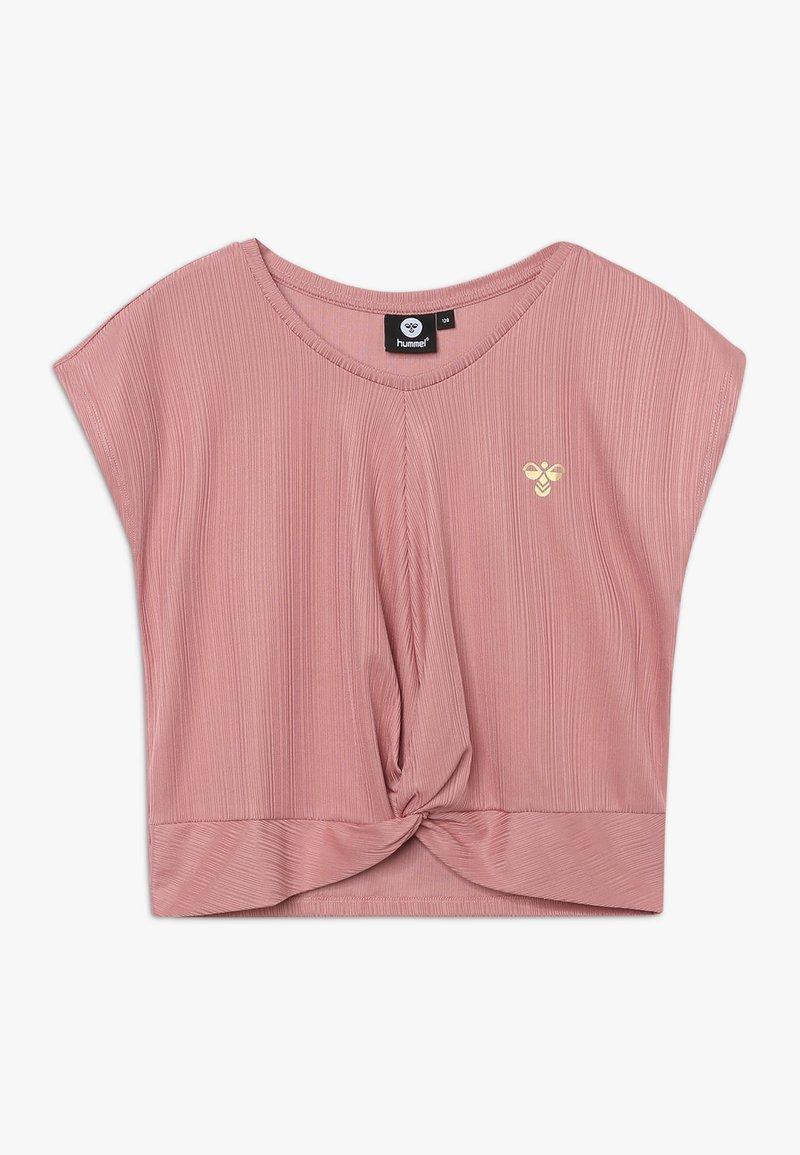 Hummel - HMLLIV - Print T-shirt - ash rose