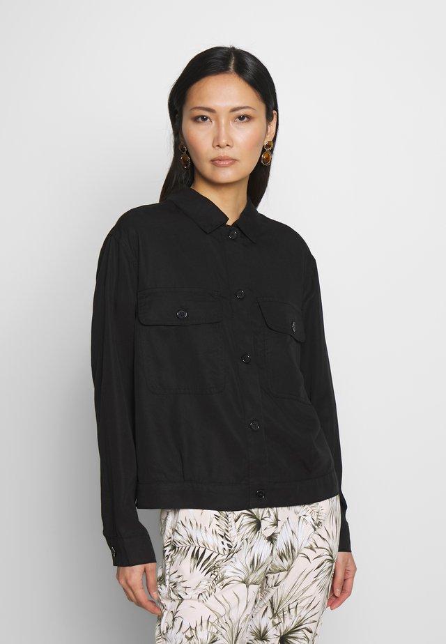 FRIPTWILL - Lehká bunda - black